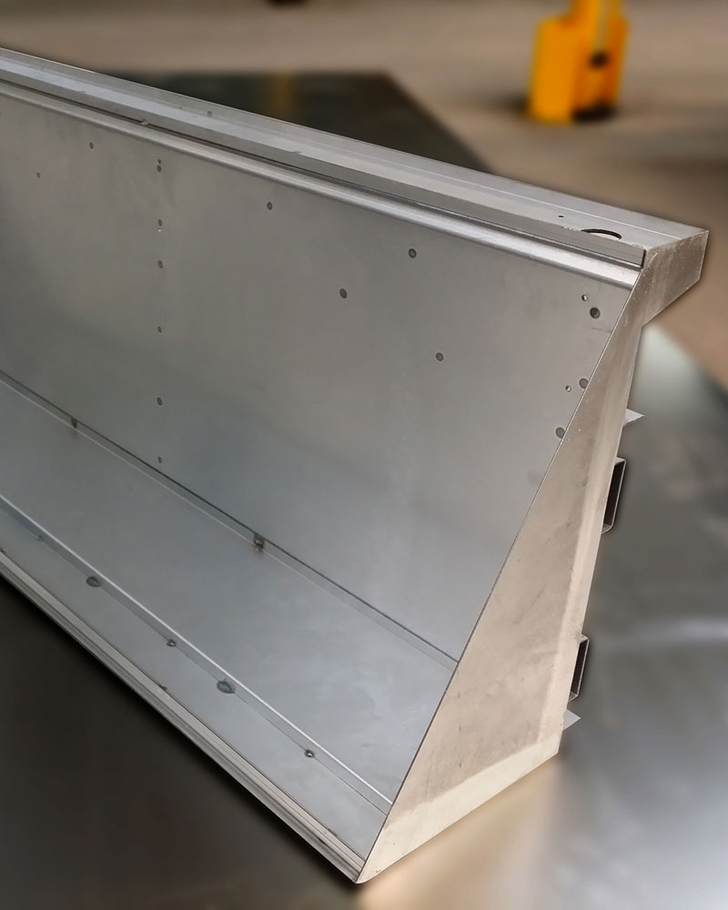 CNC Laser Custom Metal Fabricated Shelf